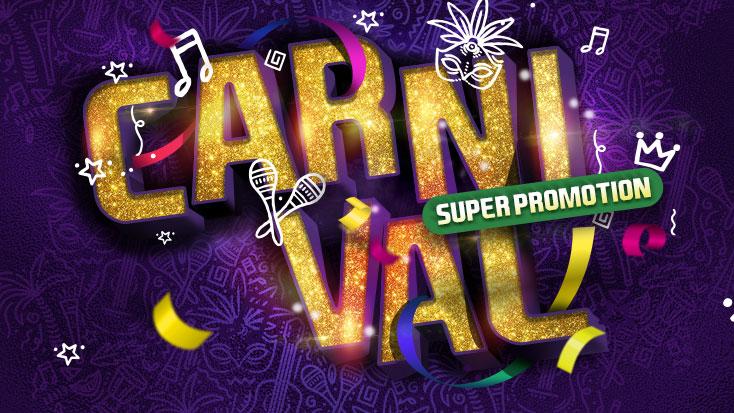 Spread your wings for carnival at Câmera Privê!